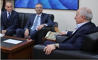 Başkan Gültak'a Haluk Bozdoğan'dan Ziyaret