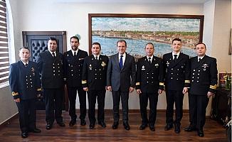 Başkan Seçer, NATO Gemi Komutanlarını Ağırladı