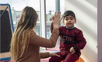 Büyükşehir'den Çocuklara Duyu Bütünleme Terapisi