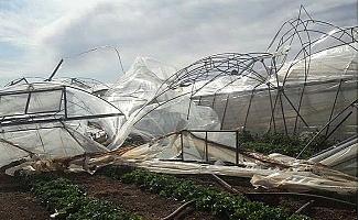 Erdemli'de ki Şiddetli Fırtınanın Bilançosu Ortaya Çıktı.