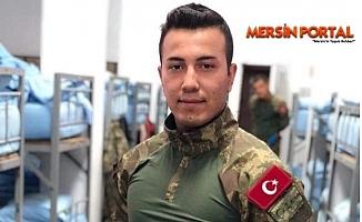 İdlib'de Şehit Olan Osman Ak'ın Silifke'deki Ailesine Acı Haber Verildi.