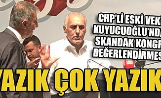 Serdal Kuyucuoğlu'ndan CHP Mersin İl Kongresine Tepki