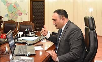 Başkan Yılmaz Basın Mensupları İle Videokonferans Aracılığıyla Buluştu