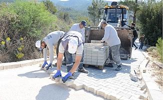 Gülnar Belediyesi Yol Çalışmalarını Hızlandırdı