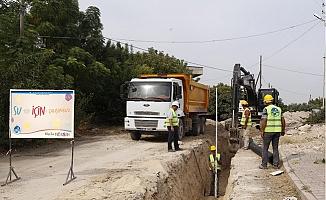 MESKİ, Kürkçü Mahallesi'nin 55 Yıllık Altyapı Sorununu Öözdü