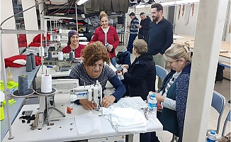 Tarsus Belediyesi Fırsatçılara Karşın Maske Üretimi İçin Düğmeye Bastı