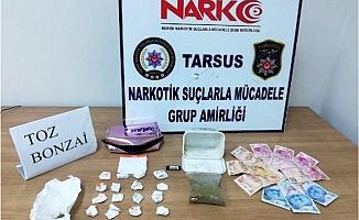 Tarsus'ta Uyuşturucu Operasyonu: 14 Gözaltı