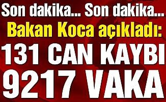 Türkiye'de Corona Virüsünden Ölenlerin Sayısı 131'e Yükseldi