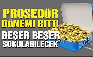 Yolcu Beraberinde İşlenmemiş 5 kilogram Altın Getirilebilecek