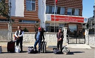 Mersin'de, Karantina Süreleri Dolan 135 Kişi Evlerine Gönderildi