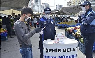 Yenişehir Belediyesi Semt Pazarlarında Teyakkuzda