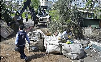 Yenişehir'de Kaçak Atık Depoları Kapatıldı