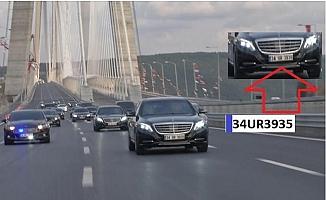 Cumhurbaşkanı'nın Aracına Kaçak Geçiş Cezası Kesildi.