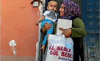 """""""El Bebek Gül Bebek Projesi"""" Mersin'i Gülümsetiyor"""