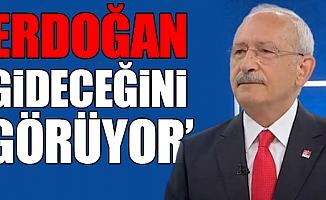 Erdoğan, Gideceğini Görüyor