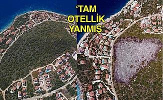 Komşu Antalya'da Tam Otellik Bir Yangın!