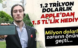 Mersinli Genç, 1.2 Trilyon Dolarlık Apple'ın Yazılım Açığını Buldu.