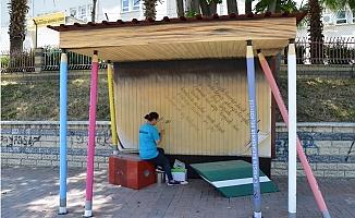 Mersin Büyükşehir'den Okul Önlerine Kitap Durağı