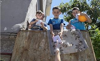 Mersin'de Bayram Şekerler Büyükşehir'den