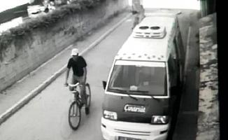Mersin'de Kapkaççıyı Kırmızı Bisikleti Ele Verdi