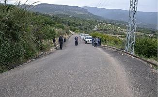 Silifke'de Çöken Yol Hasat Öncesi Onarıldı.