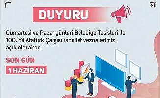Tarsus'da Emlak, Çevre Temizlik, Reklam Vergileri İçin Son Gün 1 Haziran