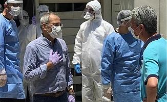 Başkan Haluk Bozdoğan'ın Tomografi Sonuçları Temiz Çıktı