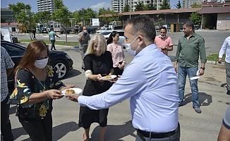 Başkan Özyiğit, Belediye Personeliyle Buluşmalara Devam Ediyor