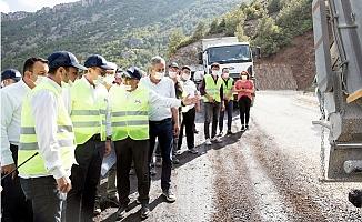 Başkan Seçer, 3 Mahallenin 13 Kilometrelik Grup Yolunu İnceledi