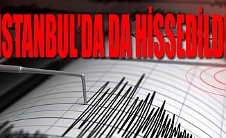 Ege Bölgesi'nde 5,5'lik Korkutan Deprem