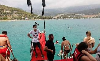 Mersin'de Koronavirüs Gölgesinde Günübirlik Yat Turu