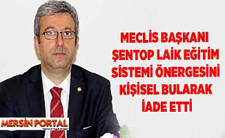 TBMM Başkanı, Alpay Antmen'in Önergesini Beğenmeyip İade Etti