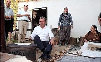 Başkan Seçer, Kırsal Mahallelere Çıkarma Yaptı.