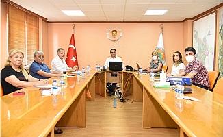 Başkan Yılmaz, Yeni Encümen Üyeleri İle İlk Toplantısını Yaptı.