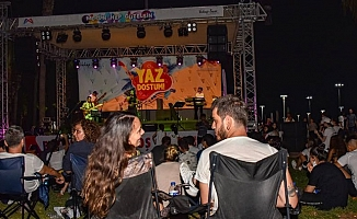 """Büyükşehir, """"Yaz Dostum"""" Diyor, Mersinliler Yaz Konserlerinde Buluşuyor"""