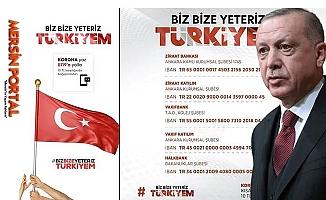 CHP Mersin Milletvekili Biz Bize Yeteriz de Toplanan Paraların Akıbetini Sordu