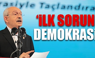 Kılıçdaroğlu, CHP Kurultayında Türkiye'nin 5 Temel Sorununu Anlattı