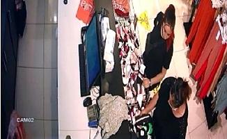 Mağazada Unutulan Altın Dolu Çantayı Çalan Şüpheli Yakalandı