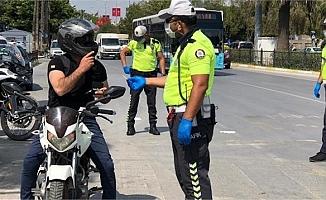 Mersin'de Bin 634 Motosiklet Trafikten Men Edildi