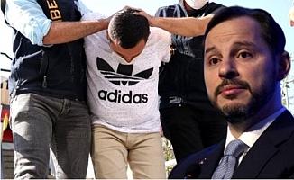 Mersin'de Maliye Bakanı Berat Albayrak'a  Hakaretten Tutuklanmıştı