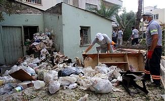 Akdeniz'de Bir Çöp Ev Daha Temizlendi.
