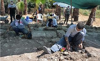 Aratos'un Anıt Mezarı İçin Soli Pompeiopolis'de Kazı Çalışmaları Sürüyor