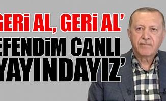 Cumhurbaşkanı Erdoğan Promptera Takıldı
