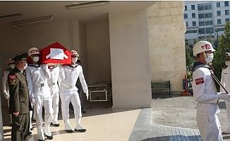Mut'taki Kazada  Şehit Olan Asker Memleketi Eskişehir'e Uğurlandı.