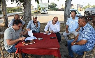 Tarsus Belediyesi Sorunların Çözümü İçin Bayram Mesaisi Yaptı.