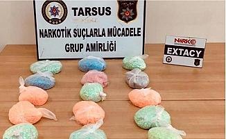 Yolcu Otobüsü Şoförü, 25 Bin Uyuşturucu Hapla Yakalandı