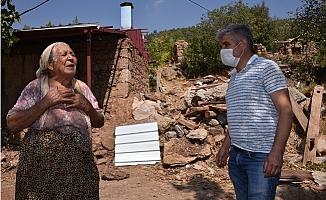 80 Yaşındaki Emiş Teyzeni'nin Su Hasreti Sona Erdi.