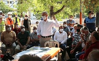 Akdeniz Belediyesinden Muhtarlara 400 TL'lik Fatura Desteği
