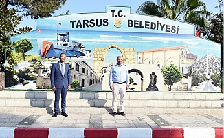 Başkan Gültak'dan Başkan Bozdoğan'a İadeyi Ziyaret