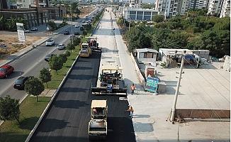 Büyükşehir Vatan Caddesinin Hem Altyapısını Hem Üst Yapısını Yeniledi.
